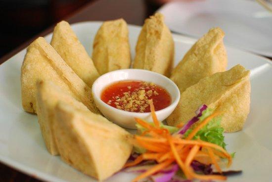 Pam Real Thai: Tofu frito