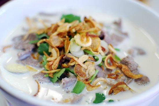 Pam Real Thai: Fideos con sopa de coco y ajo