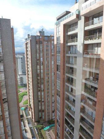 Radisson AR Hotel Bogota Airport: view at the window