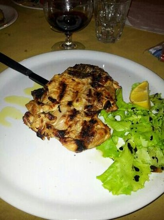 Piccolo Ranch Ostia Antica: pollo alla birra