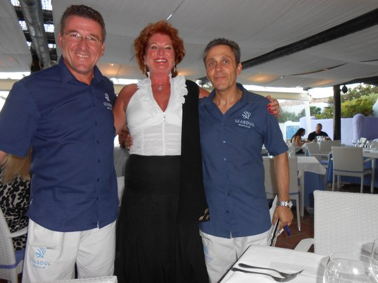 Iberostar Marbella Coral Beach : I'm just one of the lads with.JUAN AND SERAFINO