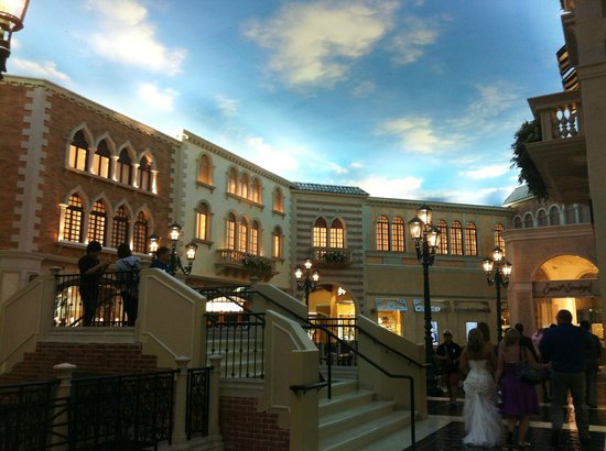 shops inside the venetian looks like you are outside picture of