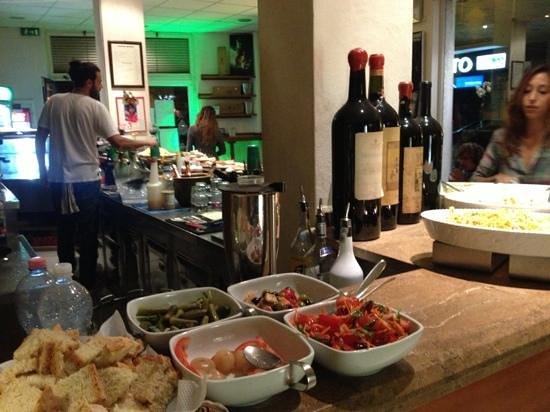 Grosseto, Olaszország: bancone del bar
