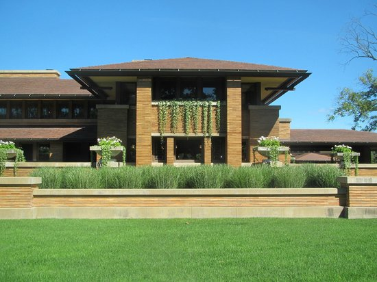 Frank Lloyd Wright's Darwin D. Martin House Complex: Darwin Martin House
