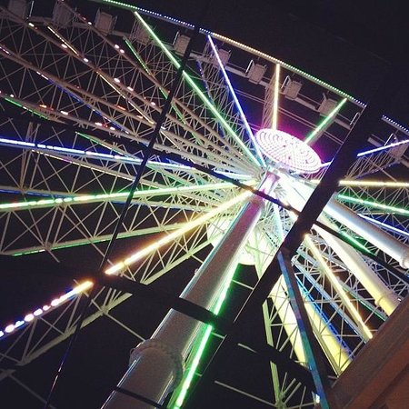Myrtle Beach Skywheel In Sc Usa