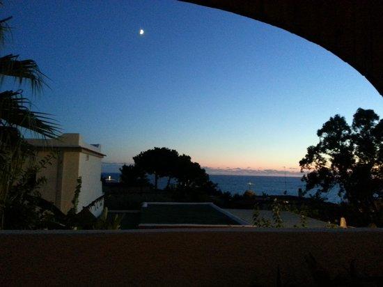 Hotel Casa La Vigna : tramonto dalla terrazza