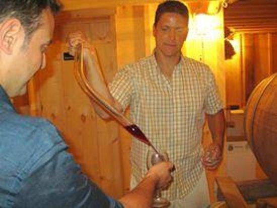 Sannino Bella Vita Vineyard : Degustazione Vini direttamente dalla botte