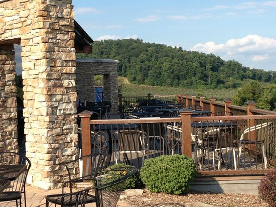 Part Of The Patio At Hauser Estate Winery