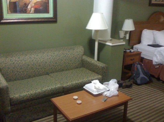 Days Inn & Suites Houston Hobby Airport: Sofa