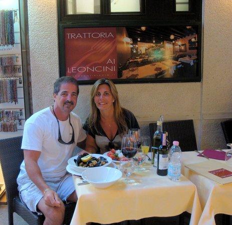 Ristorante Ai Leoncini San Marco: Delicious Dinner