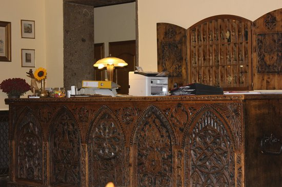 Hohenstauffen Hotel : Contoir
