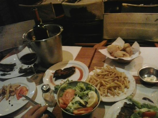 Parrilla Sur: jantar