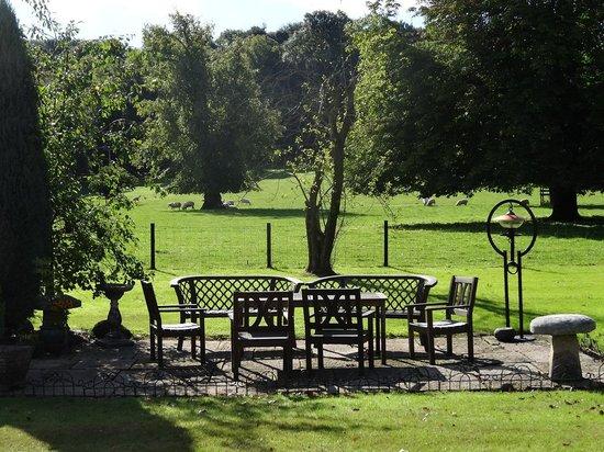 Belsyde Country House Bed & Breakfast: jardin devant