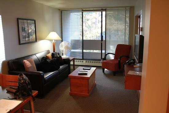 West Coast Suites at UBC: Living Room