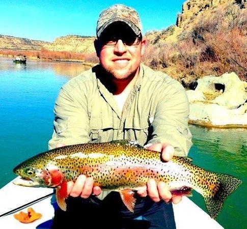 Fisheads San Juan River Lodge: Nice San Juan Rainbow
