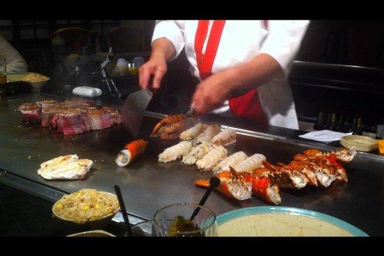 Benihana: Gutes Essen, top Show