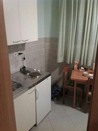 "Guest Accomodation Zura: кухня в ""студии"""
