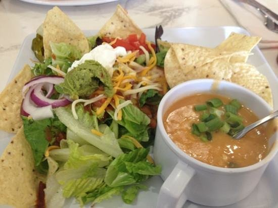 McAlister's Deli: chicken tortilla soups and taco salad