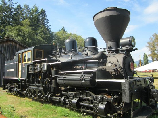 B.C. Forest Discovery Centre : Going loco