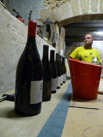 Domaine les Serres : Wijnbezoek