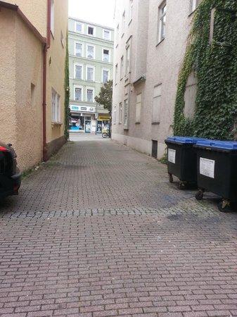 Hotel Goldener Hirsch : Hinterhof