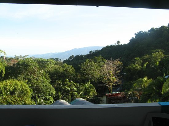 Villas Mymosa: The view from the balcony