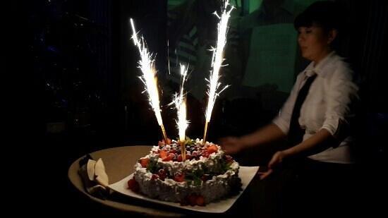 Kalina Bar: А вот и тортик!