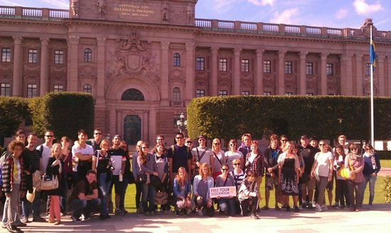 Free Tour Stockholm : Group photo