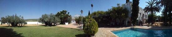 Montilla, Spain: El jardín de La Hacienda