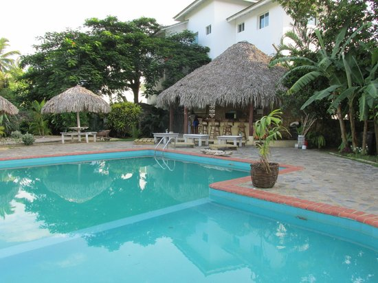 Hotel Palapa : Pool & Breakfast Bar