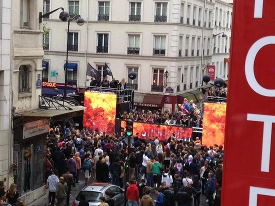 Hotel Elysee Gare de Lyon : Soundproof even during Techno Parade 2013.