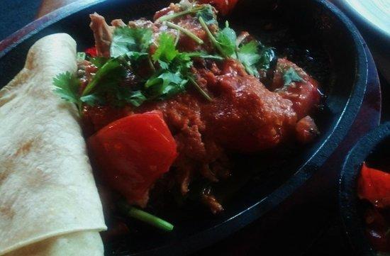 Salsa Mexican Caribbean Restaurant: Slow Roasted Pork With Cilantro Fajitas