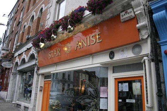 Star Anise : façade du restaurant