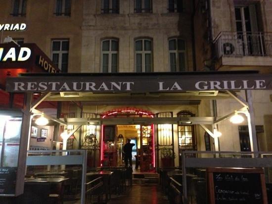 Restaurant La Grille: la grille