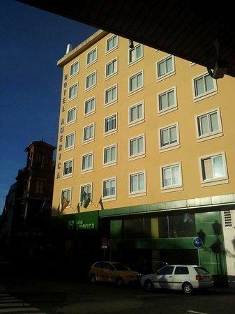 Hotel América  - Sevilla: Fachada principal.