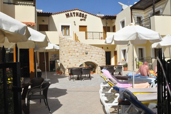 Matheos Apartments: Front view