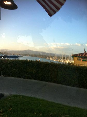 Andria's Seafood Restaurant : Great View