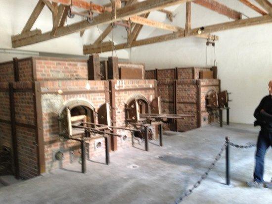 Munich Walk Tours: Newest large oven at Dachau