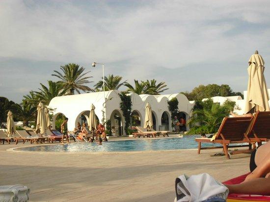 Hotel Salambo Hammamet.: plage