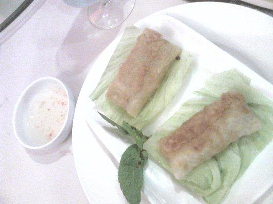 Restaurante Asiatico: Rollitos vietnamitas