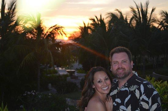 Carolina: Sunset on terrace