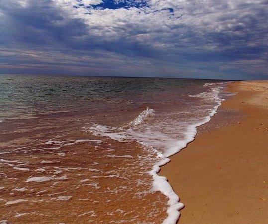 Frisco Beach: Nice safe, and very clean beach