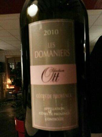 Restaurant Cesar: Les Domaniers 2010