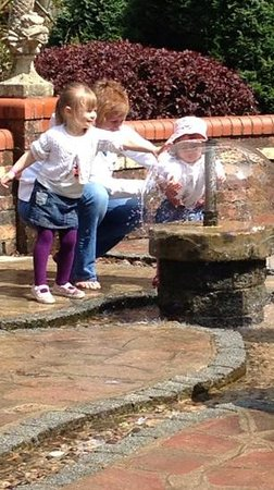Watermouth Family Theme Park & Castle: fun with the water.