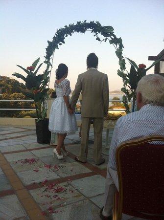 Kanapitsa Mare Hotel & Spa: great views