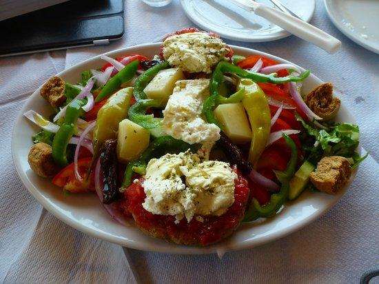The Old Phoenix: Cretan Salad was my favorite.