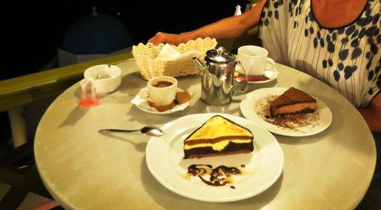 "Melenio: The ""Pyramid"" and ""Mascarpone Choco cake"""