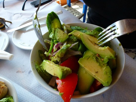 The Old Phoenix: Avo salad was exceptional