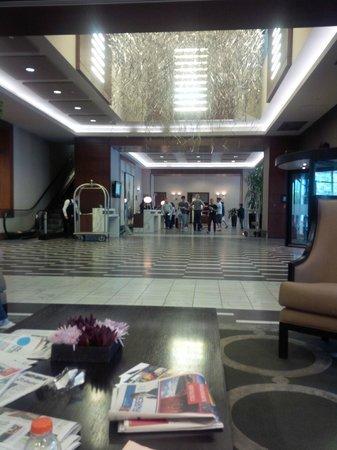 Le Westin Montreal : hotel lobby