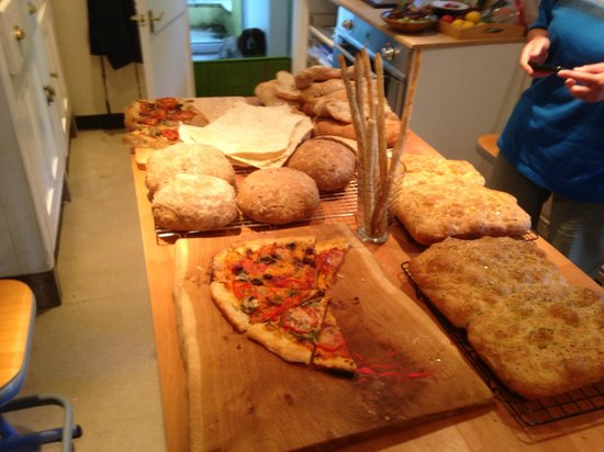 Manna from Devon Cooking School: Italian day